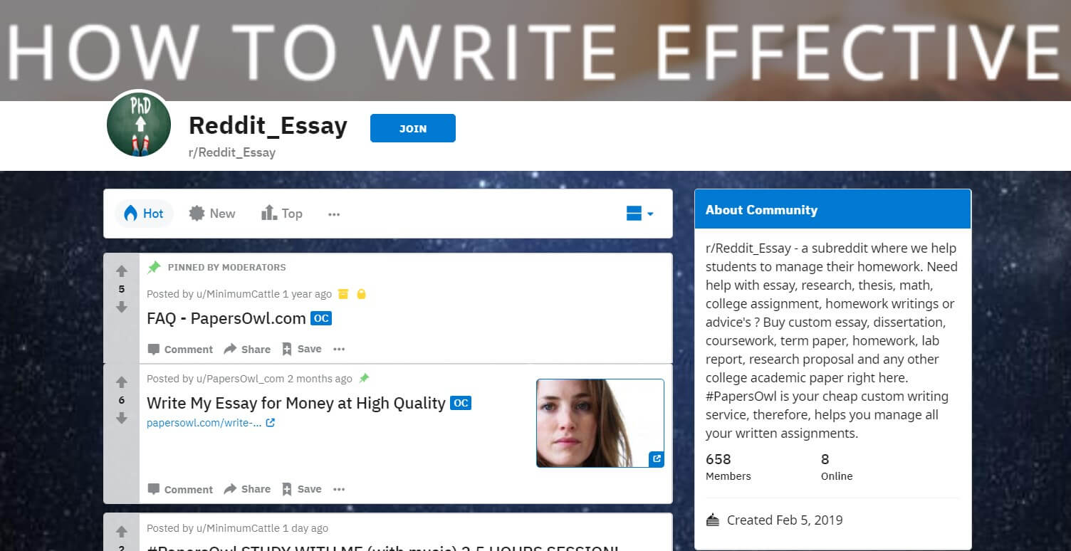 Best essay writing service reddit