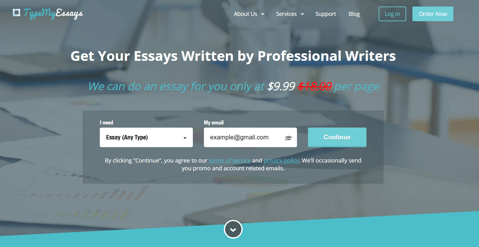 Top Essay Writing Website TypeMyPapers